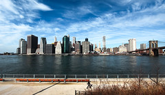 A view of the so-called Financial District New York. (The city guy ☺) Tags: newyork city cityscapes walking walkingaround waterways blue architecture exploration skies clouds urban urbanexploration unitedstates