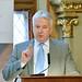 Semjén Zsolt nemzetpolitikáért felelős miniszterelnök-helyettes, a KDNP elnöke előadást tart a Századvég Alapítvány Szent II. János Pál pápa és a keresztény Európa megújulása című nemzetközi konferenciáján a Pázmány Péter Katolikus Egyetemen