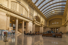 Chicago Union Station (Jim Bauer) Tags: chicagounionstation amtrak