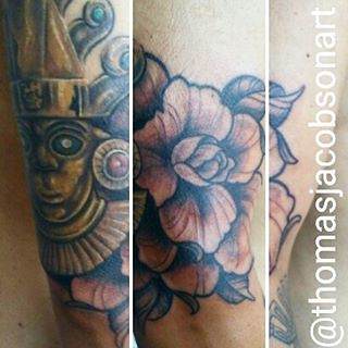 44b46f7770c9c Part of an ongoing Incan floral project im working on better pics soon  #inprogress #