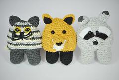 Amigurumis wild animals (La Borda del Crochet) Tags: crochet amigurumi ganchillo handmade algodón