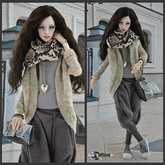 Милашка-1 (Dollfason) Tags: шарнирная кукла коллекционная авторская радуэт raduet dolloutfit collection doll fashionfordoll clothes for dolls streetstyle shoes