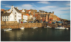 Crail Harbour, Fife-3 (Gordon_Farquhar) Tags: anstruther fife st monans pittenweem cellardyke crail coast scotland east sunshine spring light
