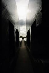 DSC03736 (plammerschop) Tags: culemborg diefdijk hollandsewaterlinie bunker bunker599 beton monument 1940 kunst verdediging defensie history geschiedenis art landart concrete holland gelderland lightanddark lijnen lines ww2 wo2