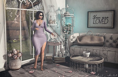 Love yourself as much as you want to be loved... (Neda Andel ~SLooK4U Blog) Tags: tetra season story chapter four girl pastel fashion virtual 3d nutmeg