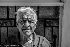 Taid (lowribearmanphotography) Tags: portrait people man age family grandfather grandparents bw portraits old