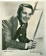 Perry Como (1912-2001) (gubama) Tags: perrycomo crooner norteamericano cantante 19122001 1912 2001 estadosunidos forografía promocional rca rcavictor