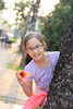 IMG_5069 (Ethene Lin) Tags: 景華公園 木棉 逆光 人像 兒童 小女孩