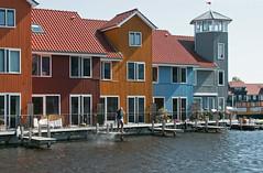 Reitdiep Groningen (Roelie Wilms) Tags: reitdiep groningen nederland haven harbor hawe harbour jachthaven architectuur architecture