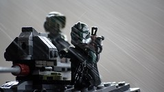 Gree (Worn Out Trooper) Tags: starwars clone clonetrooper clones clonewars lego legostarwars legoguys legos legominifig legominifigure kashyyyk kashyyyktrooper gree commander outdoors depth depthoffield
