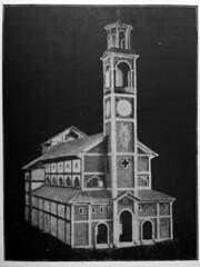Nuova chiesa di San Cristoforo Progetto e plastico 1920-25 fronte (Milàn l'era inscì) Tags: urbanfile milanl'erainscì milano milan oldpicture milanosparita vecchiefoto san cristoforo