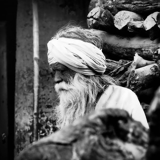Old Man of Varanasi.