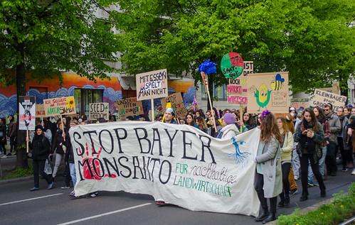 March against Monsanto in Berlin