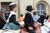 Un tout jeune couple camarguais (genevieveteyssier) Tags: gardian arlésienne provençale camargue arles provence tradition cheval