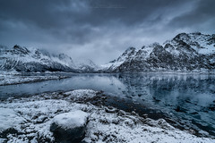 Icy Fjord (Alexander Lauterbach Photography) Tags: ice icy fjord winter blue norway norge nordland lofoten travel landscape sony a7r a7rii