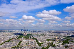 Paris Cityscape and Tour Eiffel