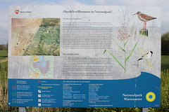 Infotafel am Parkplatz (perspective-OL) Tags: stad stadland sehefelder moor schwimmendes national park nationalpark nordsee jadebusen watt watvögel sehestedt deich