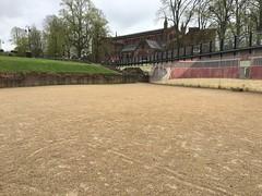 IMG_1742 Roman amphitheater, Chester, UK (4) (archaeologist_d) Tags: chester england uk romanamphitheatre romanruins archaeologicalsite archaeologicalruins