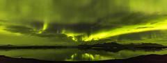 Asgard (Nick L) Tags: iceland nightscape nightsky landscape aurora auroraborealis northernlights southerniceland jökulsárlón jokulsarlon icelagoonatjokulsarlon icelagoonatjökulsárlón reflection green night canonef1124f4l