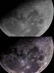 Antes y después. (Fox J.) Tags: astrophotography space deepspace espacio stars star universo universe astronomy astronomia astrofotografia astrometry