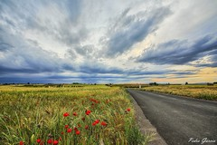 Road spring 2017 (Peideluo) Tags: green clouds sky spring road landscape cielo campo paisaje carretera