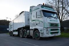 Ronan Bulk Haulage Volvo FH Globetrotter R18 GRT (5asideHero) Tags: ronan bulk haulage volvo fh globetrotter tipper r18 grt