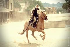 Texas Hollywood - Fort Bravo (Miguel Puerta) Tags: mpuerta 2017 canon fortbravo tabernas texashollywood western oeste cowboys vaqueros forajido outlaw horse caballo jinete horseman almeria andalucía andalusia show actor acting performance robbery