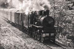 Treno Storico Valsesia (beppeverge) Tags: beppeverge binari carriage ferroviastorica gr625 historic loco locomotiva locomotive rails rotaie steamtrain train trenoavapore valsesia wagon