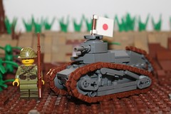 Le Petit Char de la France (oberleutnant kräbs) Tags: ww2 ww1 moc lego tank france japan pacific military