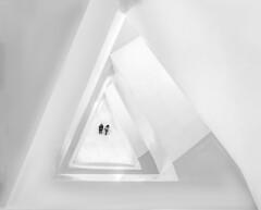White hole (ONINOT) Tags: white hole newyork stairs architettura