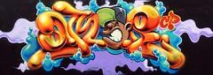 Lil God (Spen Crush Proof) Tags: amir crush proof crushproof graffiti ore spraypaint sun character graffiticharacter spen
