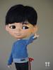 Natsu Small Eyes Boy (little dolls room) Tags: blytheboy smalleyesboy asianboy blythe blythedoll blythecustomdoll bigeyesdoll doll dollfaceup ooakdoll ooakcustomblythedoll littledollsroom ltdr littledollroombaby