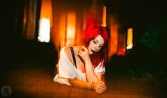 Ivy League #4 (Roar & Gills) Tags: roarandgills roargills canon6d alley alleyway downtown nighttime shutterdrag poison ivy batman red hair