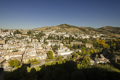 Hills of Granada (rschnaible) Tags: alhamdra granada spain espana sightseeing tour tourist landscape cityscape hills