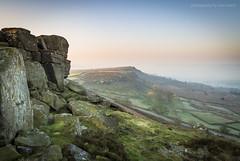 Curbar Edge Dawn (marc_leach) Tags: landscape peakdistrict curbaredge sunrise dawn light nikon