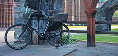 Saturday Morning Ride (pedalpusher139) Tags: pashley vintagebike bycycle bike roadster carlisle cathedral
