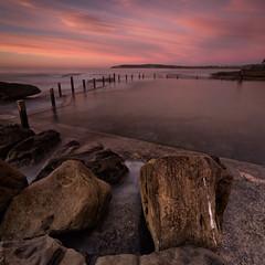 Maroubra Sunrise 1 (RoosterMan64) Tags: clouds colour longexposure mahonpool maroubra nsw rockpool rockshelf rocks seascape sunrise sydney