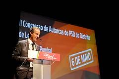 José Matos Rosa no encerramento do II Congresso de Autarcas do PSD do Distrito de Leiria