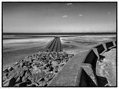 New Brighton sea front (1 of 1) (andyyoung37) Tags: merseyside newbrighton uk beach seadefences seaside thewirral