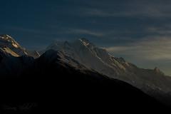 Rakaposhi - mother of mist. (Dr. Usman Khalid) Tags: summit mountains sunset dusk snow light pakistan hunza travel explorr beautiful wonder