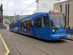 Sheffield Supertram 116 (Boothby97) Tags: sheffieldsupertram stagecoach siemensduewag tram 750vdcelectric 750vdc sheffield yorkshire emt eastmidlandstrains supertram116 yellowline fitzalansquarepondsforge