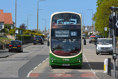 20937 (Callum's Buses & Stuff) Tags: gemini gemini2 lothianbuses lothian edinburghbus edinburgh bus b9tl volvo green cream eastfield milton