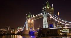 The very imposing London Tower Bridge (somabiswas) Tags: london bridge night lights architecture travel saariysqualitypictures