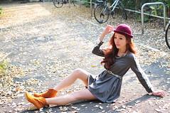 Lili0008 (Mike (JPG直出~ 這就是我的忍道XD)) Tags: lili 台灣大學 d300 model beauty 外拍 portrait 2014