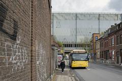 De opvolger van de Groene Tram (Tim Boric) Tags: jemeppe halte stop arrêt depot tec bus autobus ruegustavebaivy fabriek factory usine vdl