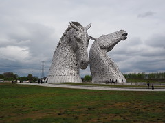 I finally saw the Kelpies!!!!