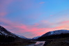 Luib Chonnal-Glen Roy 5 (gusfair) Tags: path river sunset snowcappedmountains glenroy