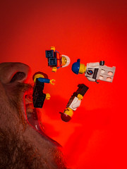 Day 135-365: Uh-oh (LivingStone Images) Tags: 15may17 2017 365the2017edition 3652017 day135365 lego red strobist werehere