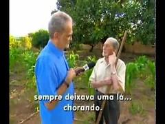 Isalino e Elvira, casal centenário de Taiobeiras, no Fantástico, comemoram 80 anos de casamento (portalminas) Tags: isalino e elvira casal centenário de taiobeiras no fantástico comemoram 80 anos casamento