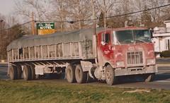 Dirty Mack F-model (PAcarhauler) Tags: mack coe cabover semi truck trailer tractor